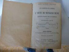 Landi 1902 Pellegrino ARTUSI La scienza in cucina e L'arte di mangiar bene