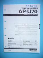 Service Manual-Anleitung für Yamaha AP-U70,ORIGINAL