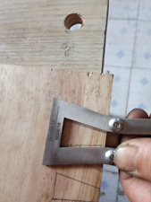 Woodworking Carpenter Copper Hand Cut Wood Joints Gauge Dovetail Marker Guide