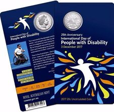 2017 20c 25th Anniversary International Day of People with Disability 3000 MADE