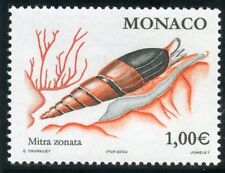 TIMBRE DE MONACO N° 2329 ** FAUNE / POISSONS ET COQUILLAGES / MITRA ZABOTA