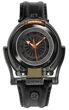 GV2 by Gevril 3405 Triton Men's Automatic Limited Edition Gun Dial Leather Watch