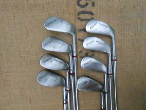 Kroydon HARDENED SOLE Model-137 OFF-SET 2-9 Iron Set ⛳ Satin Steel