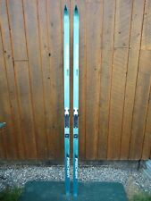 """Ready to Use Cross Country 75"""" Long FISCHER 195 cm Skis with SALOMON Bindings"""