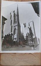 St. Nicholas Church 1935 Press Photograph-48th St. & 5th Ave., New York City, NY