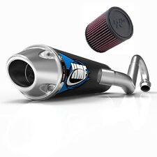 HMF Competition Comp Full System Exhaust Pipe + K&N Air Filter LTZ 400 2003-2014