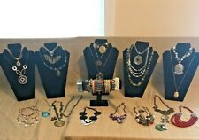 Large Lot Over 50 Pieces of Ready to Wear / Sell Costume Jewelry