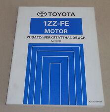 Werkstatthandbuch Toyota RAV 4 / RAV4 Motor 1 ZZ - FE Stand 04/2000