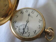 Antique Waltham 14ct Gold Pocket Watch Working Well