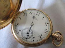 Antique Waltham 14ct Gold Pocket Watch Working Well