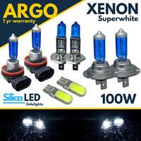 For Ford Mondeo Headlight MK4 Xenon Led Super White 100w Fog Side Light Bulbs
