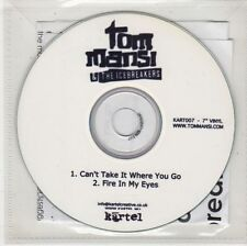 (GW742) Tom Mansi & The Icebreakers, Can't Take It Where You Go - DJ CD