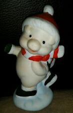 Flambro Holiday Pig Figurine