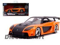 Jada 1:32 Fast & Furious Han's Mazda RX-7 Diecast Model Car 30736 Orange New