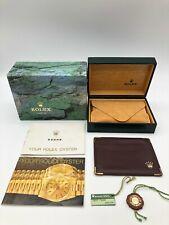 Rolex Original Datejust 14010 Uhr Etui 68.00.01 Broschüre Karte Gehäuse 0918001