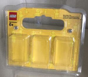 Lego Setzkasten Vitrine Case Schaukasten Transportkasten für 3 Minifiguren NEU