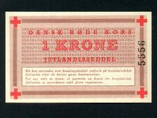Denmark:1 Krone,1952 * Red Cross Ship Jutlandia Hospital * Korean War * UNC *