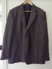 """Mens Brown NEXT Single Breasted Pure Wool Suit Jacket Size 44"""""""