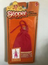 Mattel No.1944 SKIPPER FASHION COLLECTIBLES Pink Dress Vintage clothes 1978 NOS