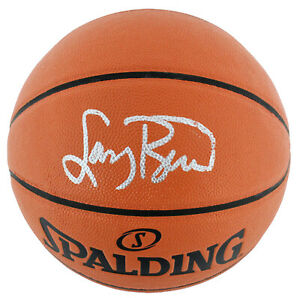 Celtics Larry Bird Authentic Signed Spalding Basketball BAS Witnessed