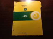 John Deere 466 Baler Parts Catalog