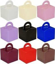 10 Favour Boxes Helium Balloon Weights Wedding Christening Party Christmas Gift
