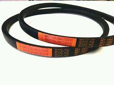 2 Genuine Mitsuboshi   PTO Belts For Kubota  G2160 Replaces K2110-25030