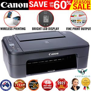 Canon WIRELESS Printer Student Home Office Print Photo Scan Copy Black Wifi