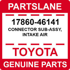 17860-46141 Toyota OEM Genuine CONNECTOR SUB-ASSY, INTAKE AIR