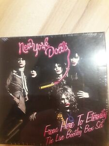 New York Dolls From Here To Eternity The Live Bootleg Box Set CD nuovo sigillato