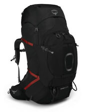 Osprey Aether Plus 100 Size S/M Mens Black Backpacking Hiking Backpack -