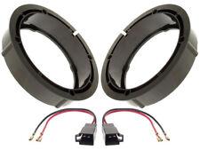 Bagues d'adaptation Haut-parleur 165mm+Câble Seat Toledo 1M devant+queue