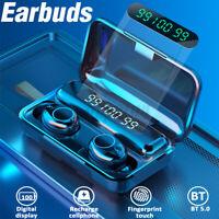 TWS bluetooth 5.0 Earbuds Headphone Wireless Headset Earphones Noise Cancelling