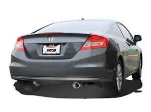 Borla AxleBack For Civic 1.8 2012 2013 2014 2015 2.25in SType Exhaust 11828