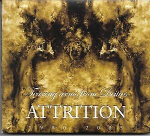 Attrition - Tearing Arms From Deities 1980-2005 (CD-Album, Digipak) Topzustand!