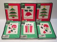 30 New Sealed Holiday Time Gel Cling Christmas Cards Blank Insides w/ Envelopes