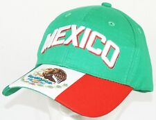 TEAM MEXICO FUTBOL SOCCER ADJUSTABLE GREEN HAT CAP #2 ICON SPORTS FROM FIFA 2018