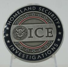 ICE Security Investigations - SAC Miami  Challenge Coin