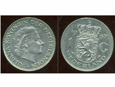 PAYS BAS  1  gulden  1967  ( bis )