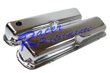 1986-1995 FORD SB VALVE COVER MUSTANG V8 5.0 5.0L CHROME STEEL SBF SMOOTH TALL