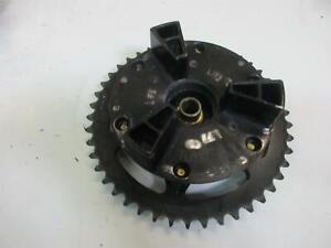 1. Yamaha FZR 600 3HE 3HF Chain Wheel Mount Sprocket Drive Mount Rim Back