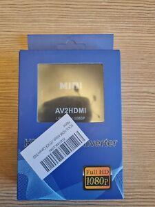 AV To HDMI  Adapter Converter RCA to HDMI 1080P