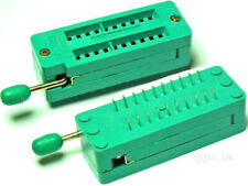 20 PIN UNIVERSAL ZIF TEST DIP IC SOCKET for DIY Arduino 🇬🇧 UK STOCK