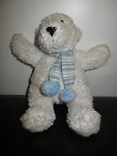JELLYCAT WHITE POLAR BEAR BEANIE COMFORTER SOFT TOY 11""