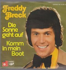 "Freddy Breck Die Sonne geht auf / Komm in mein Boot 70`s BASF 7"" Single"