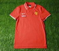 1be21ac14 MANCHESTER UNITED 2010-2011 FOOTBALL SHIRT JERSEY POLO TRAINING NIKE  ORIGINAL
