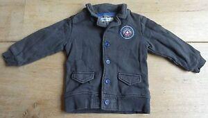 NOPPIES maat 92 winter jas grijs jongen L36xB29cm jasje jacket boy veste Jacke
