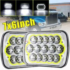 "7""x6"" 150W LED Headlights DRL for International 5900i 7300 7400 9200 9400 9900"