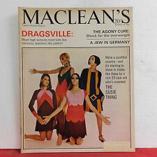 The Susie Thing Maclean's Magazine Dragsville Jew in Germany November 19 1966!