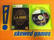 LA Noire - XBox 360 Microsoft COMPLETE